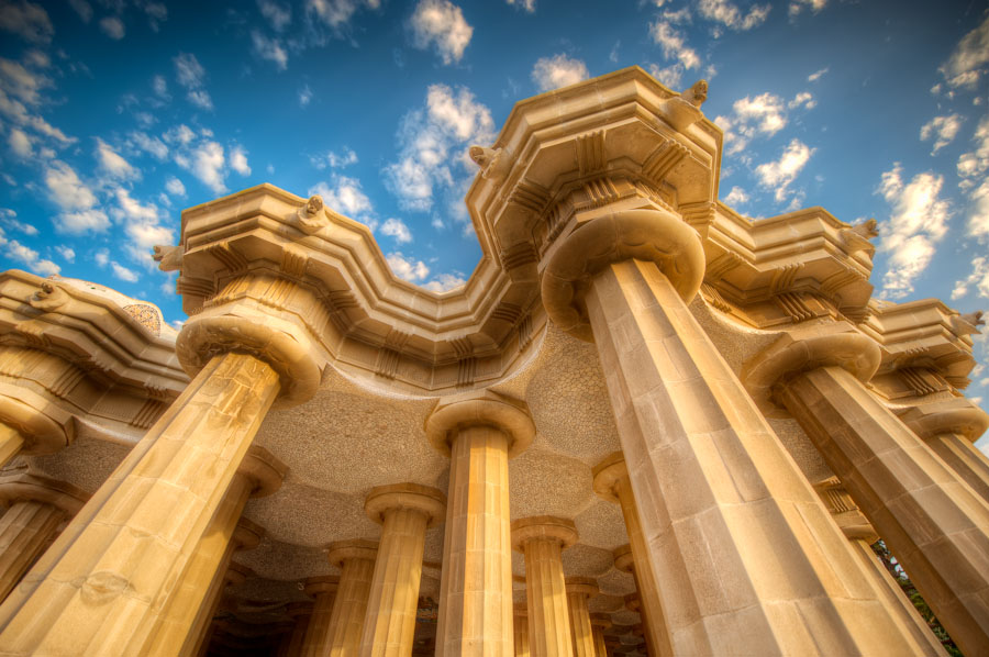 The Pillars of Guell