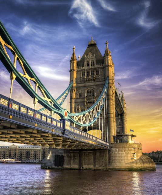 HDR Photography Blog & Tutorial - London, England - London Sky