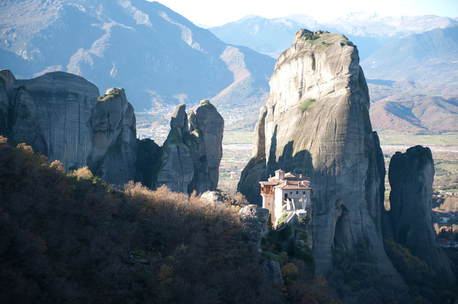 HDR Photo - Meteora, Greece - Morning (sunrise) Highlights