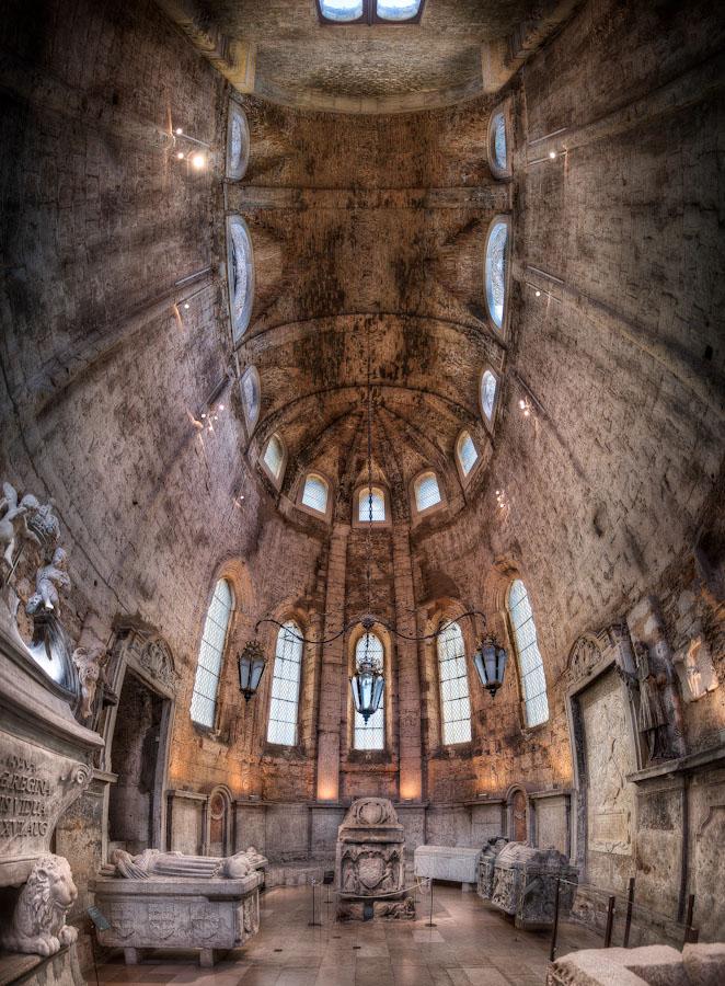 HDR Photo - Lisbon Portugal - The Carmo Church