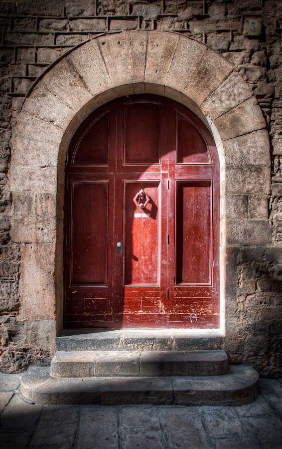 HDR Photo - Barcelona, Spain - Door Number 3