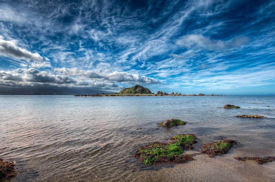 HDR Photo (pic) - Wellington, New Zealand - Island Bay