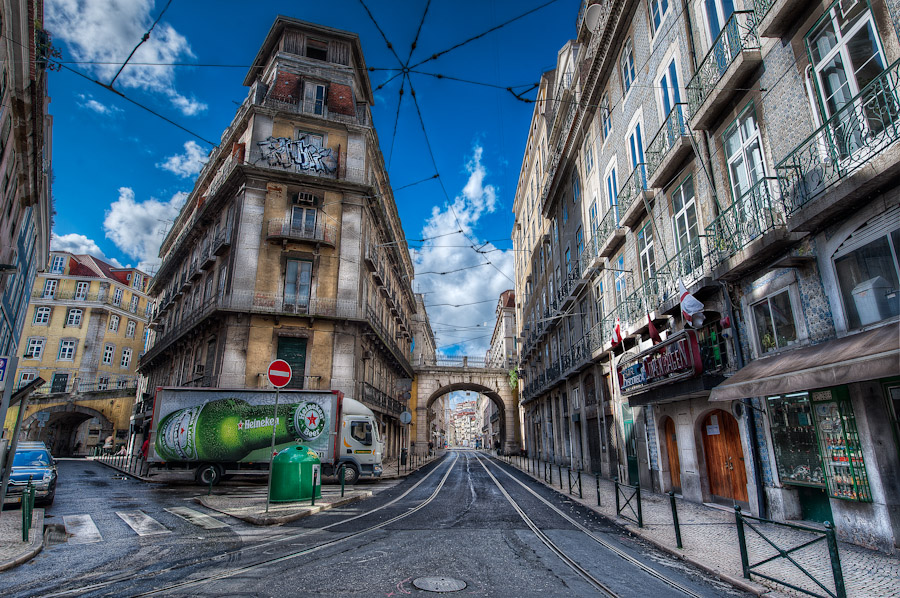 HDR Photo (pic) - Lisbon (Lisboa), Porugal - Urban Texture