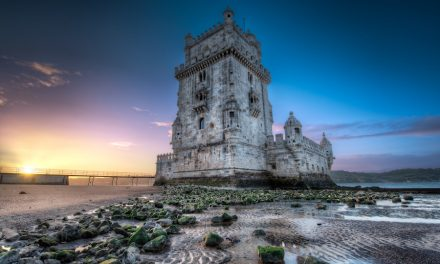 Belem Tower At Sunrise