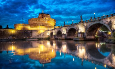 A New Year's Hangover Under Ponte Sant Angelo