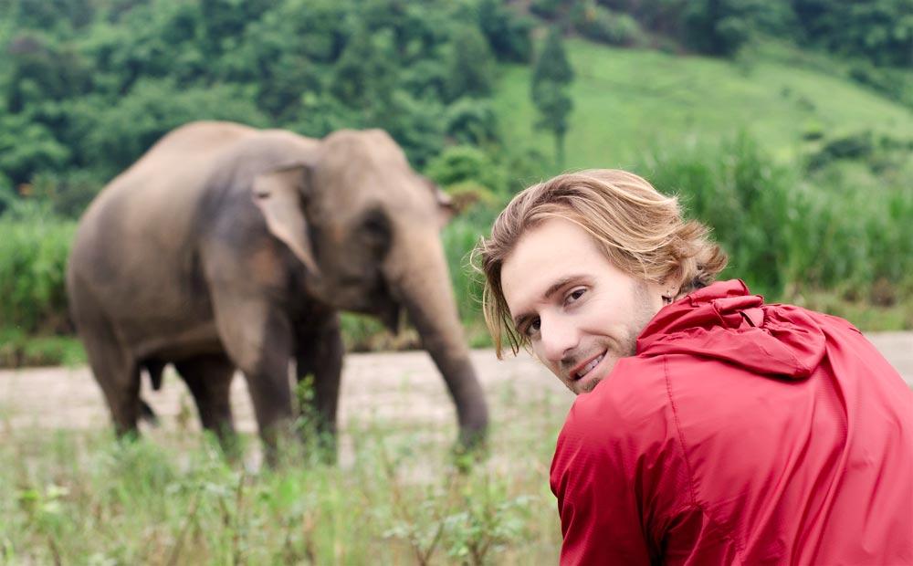 Elia Locardi How I Became an Elephant Post