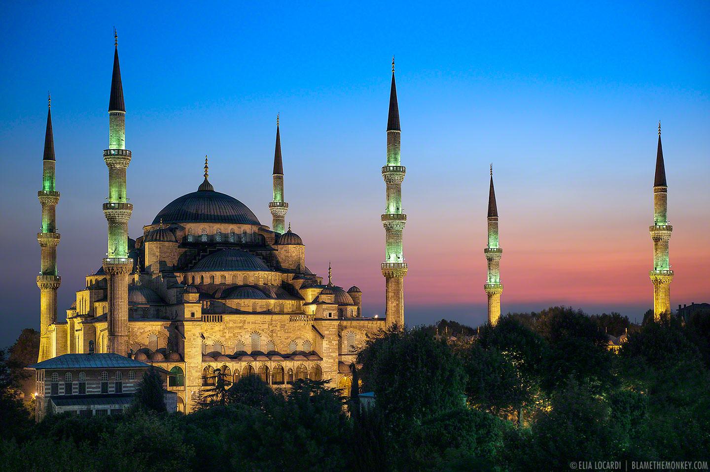 The Blue Mosque || Istanbul Turkey