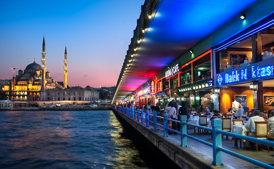 Beyond Galata Bridge