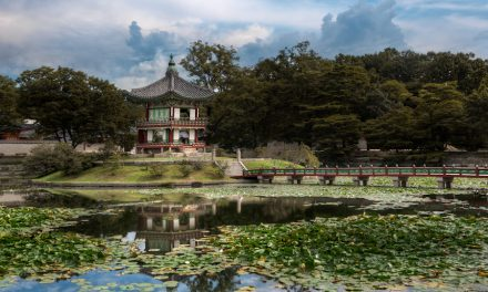 The Hyangwon Pavilion in Seoul