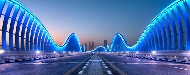 The Future Is Now – Meydan Bridge – Dubai
