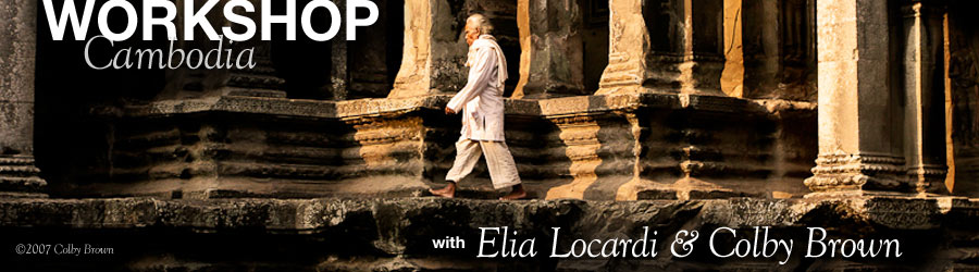 Announcing 2012 Cambodia Workshop with Colby Brown