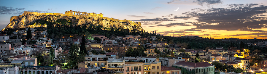 Athína Twilight – Athens, Greece
