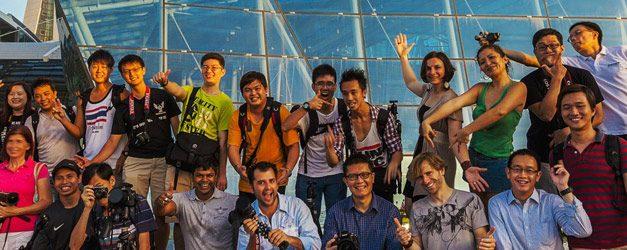 Blame The Monkey – Singapore Photowalk || 8 June 2012