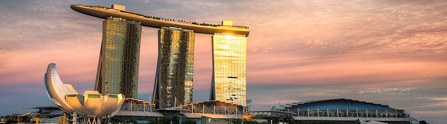Etched In Gold || Marina Bay
