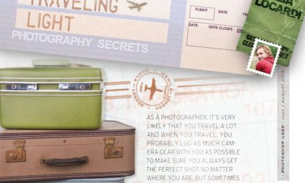 Recent Publication || Photoshop User Magazine