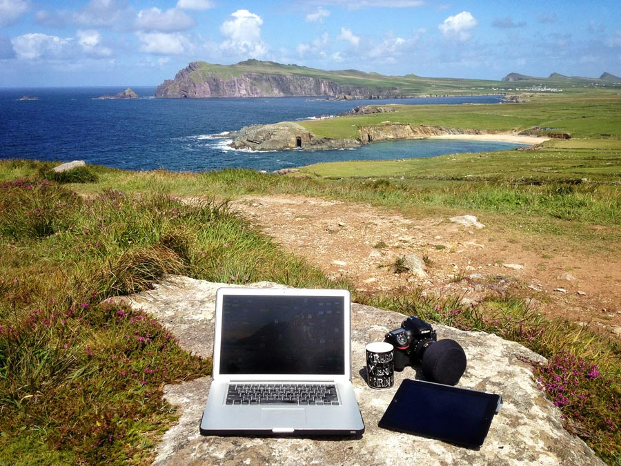 Behind The Scenes Workstation Ireland - Dingle Peninsula