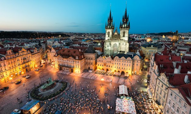 Prague By Night || Old Town Square