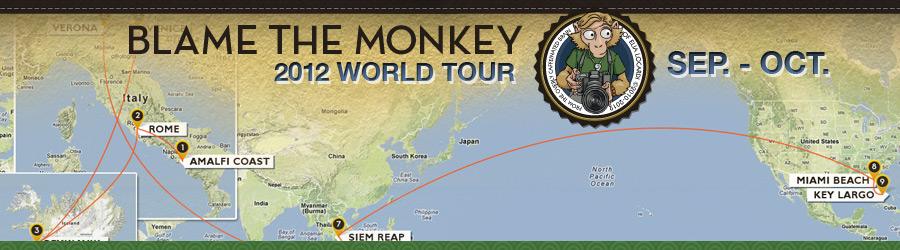 2012 Blame The Monkey World || September – October