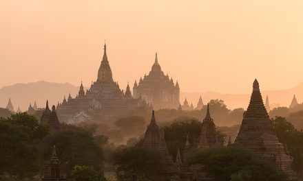 Temples In The Distance | Bagan