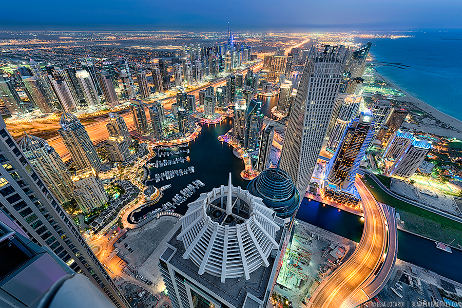 Travel photography towering dreams dubai for 180 degrees salon dubai