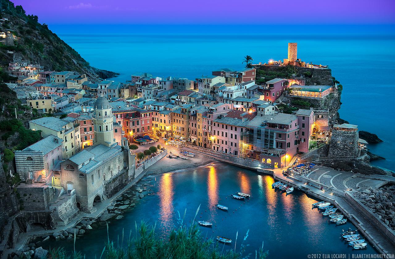 The Beautiful Vernazza...
