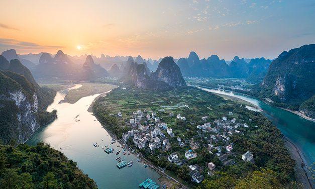 Beyond Karst Peak   Xingping China