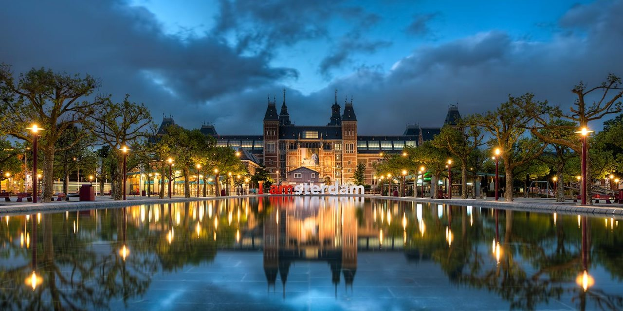 I Amsterdam || Rijksmuseum Blue