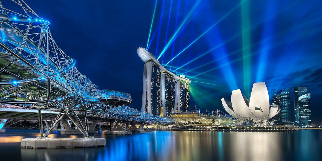 The Marina Bay in Singapore