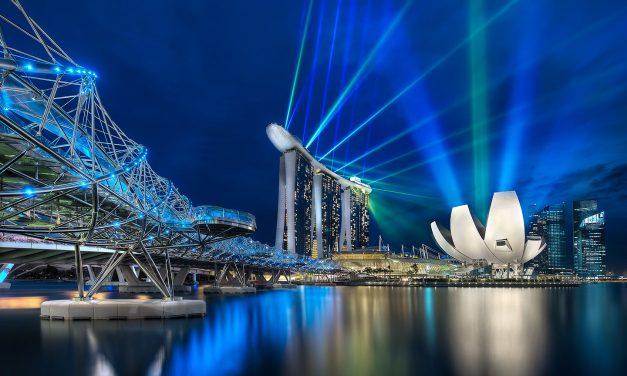 The Marina Bay in Singapore