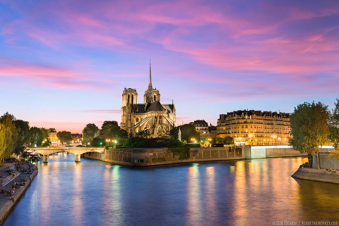 our lady of paris sunset over notre dame. Black Bedroom Furniture Sets. Home Design Ideas