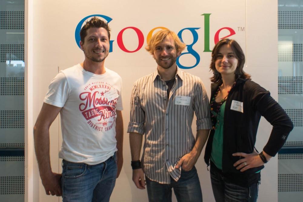 With Joe Google HQ Sydney Australia