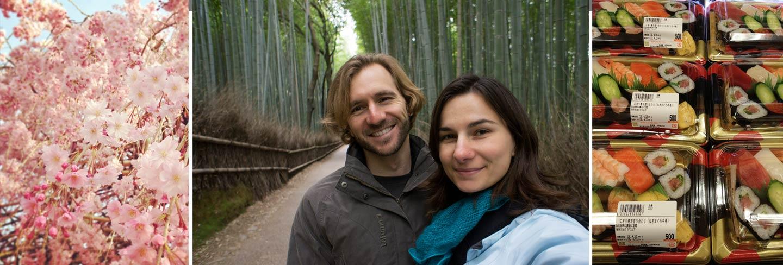 Kyoto Japan Hanami - Naomi and Elia Locardi