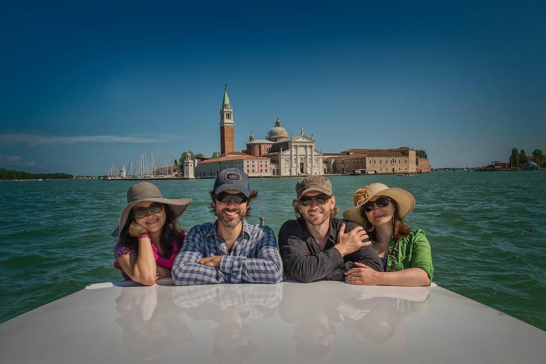 Venice Group Boat Shot