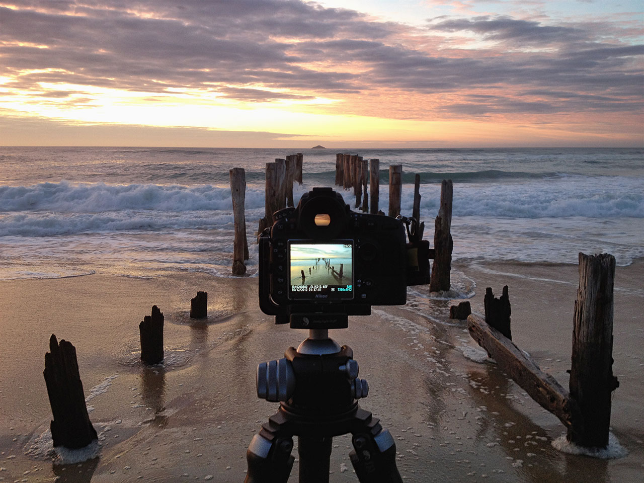 12-12_NZ_Elia-on-the-beach-sunrise-Camera-Tripod-View-1280