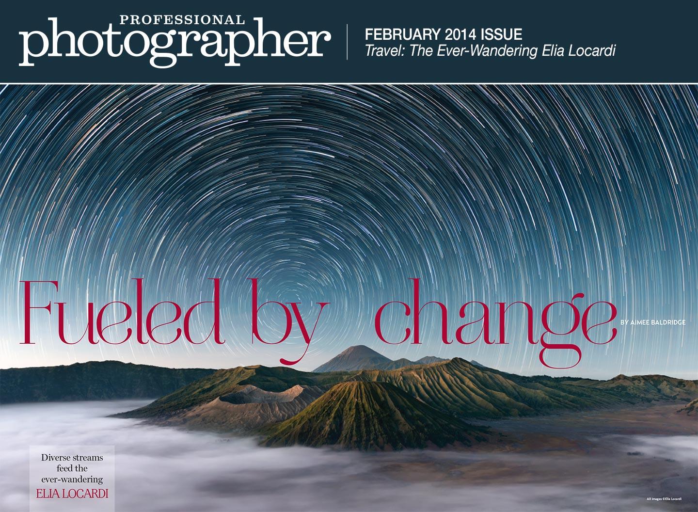 Professional Photographer Magazine Elia Locardi