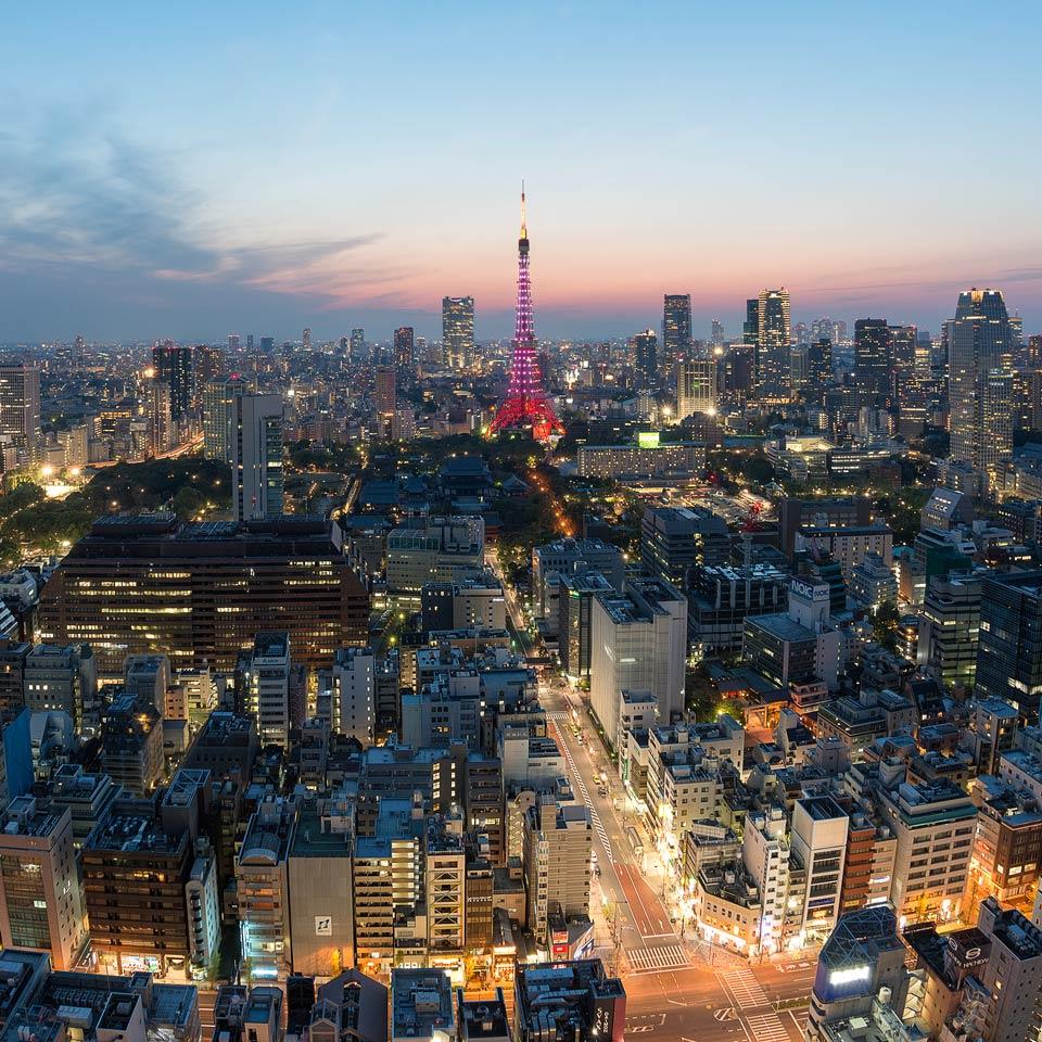 Instagram-Tokyo-Skyline-Blue-Hour-Japan