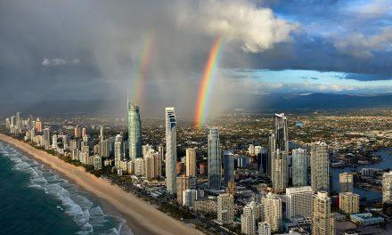 Double Rainbow Over Surfers Paradise