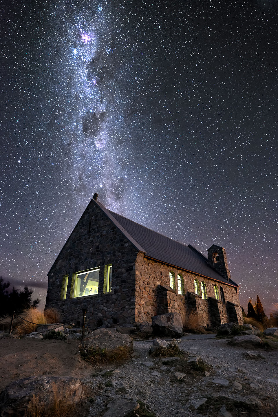 Lake Tekapo, New Zealand - March 2014 - Fujifilm X-E2 | Fujinon XF 14mm Lens | f/2.8 | ISO 1600 | 25 sec