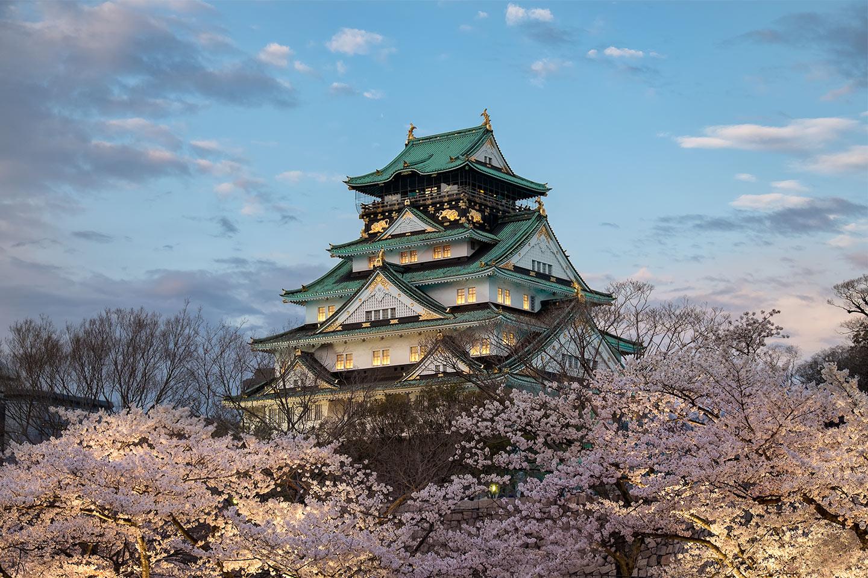 Osaka Castle, Japan - March 2014