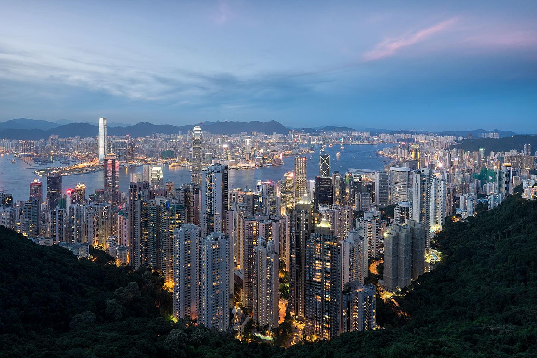 Hong Kong Skyline - June 2014 - Fujifilm X-T1 | Fujinon XF 10-24mm Lens | 13mm | f/8 | ISO 200 | 4 sec
