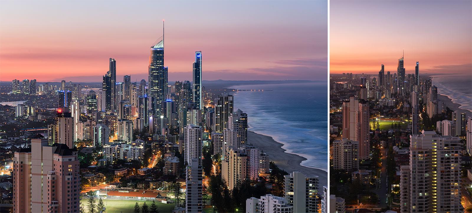 Left: Nikon D800 Image | Right: Fujifilm X-T1 Image