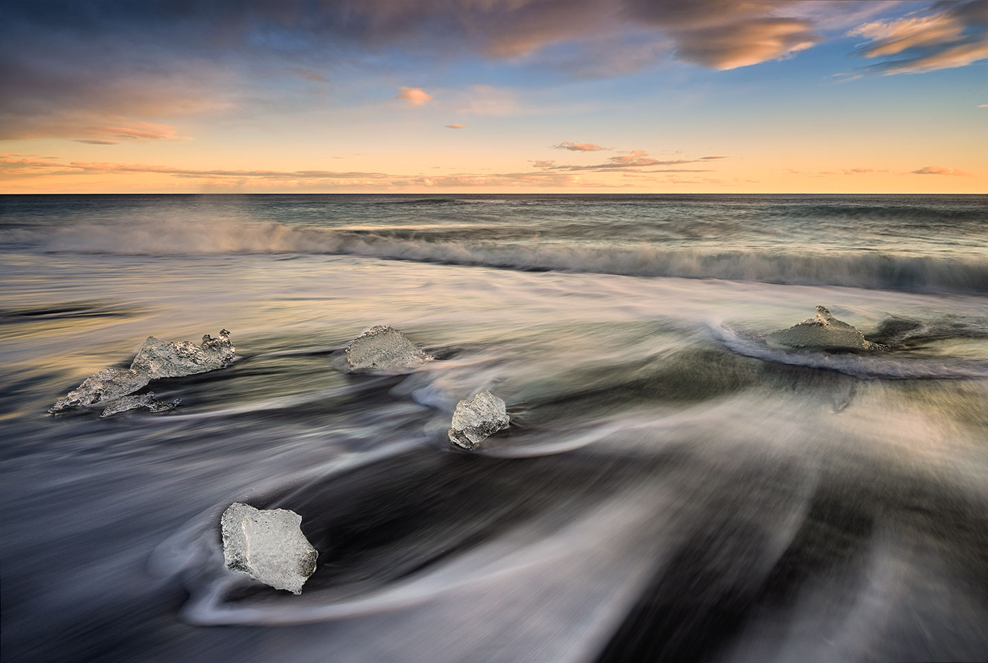 Long-Exposure-ND-Iceland-Beach-Ice-Wash