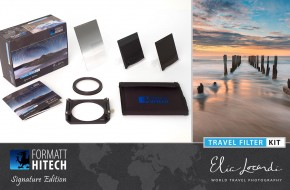 The Formatt-Hitech Travel Filter Kit, Elia Locardi Signature Edition