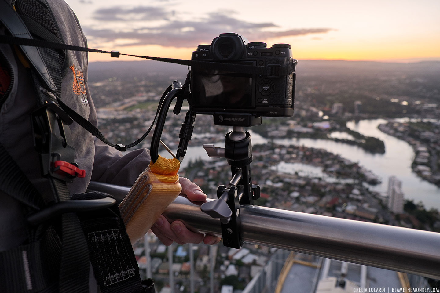 Behind the Scenes on a special Instameet at the Q1 Tower in Gold Coast Australia.