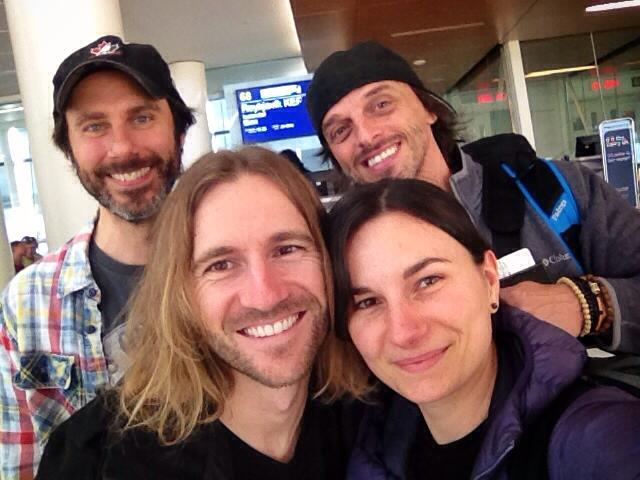 All smiles as we head from Alberta to lead the photo tour in Iceland.
