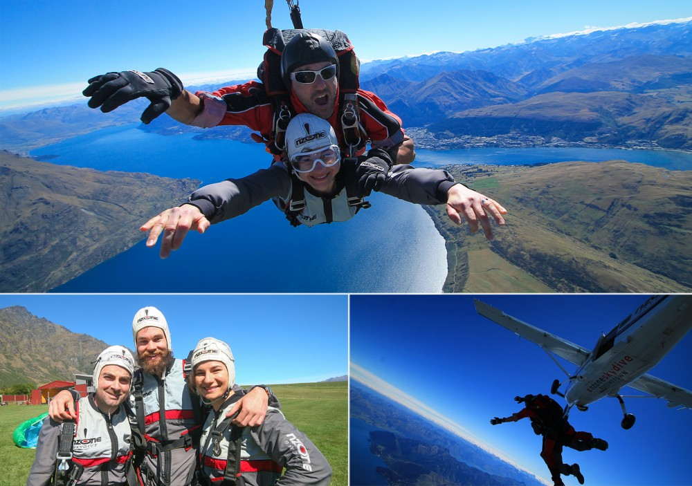 Skydiving-collage