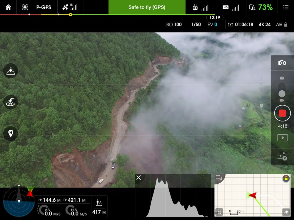 DJI-Phantom-3-Bhutan-Screenshot