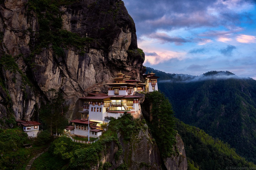 The incredible Tiger's Nest Monastery sits high in the Himalayan mountains of Bhutan - a true spectacle from the land of the thunder dragon.