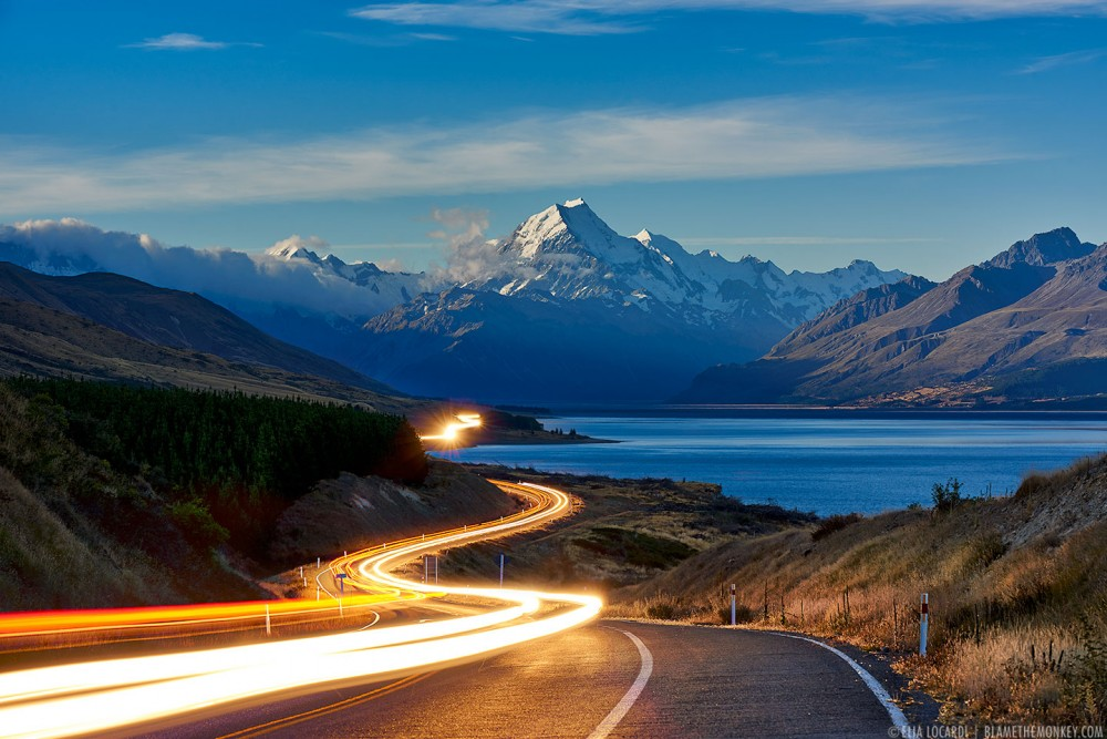 The Road to Mt Cook || New Zealand