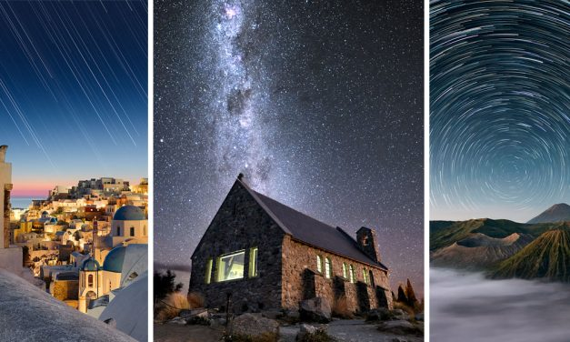 Photographing Star Trails – The Celestial Equator and Polaris